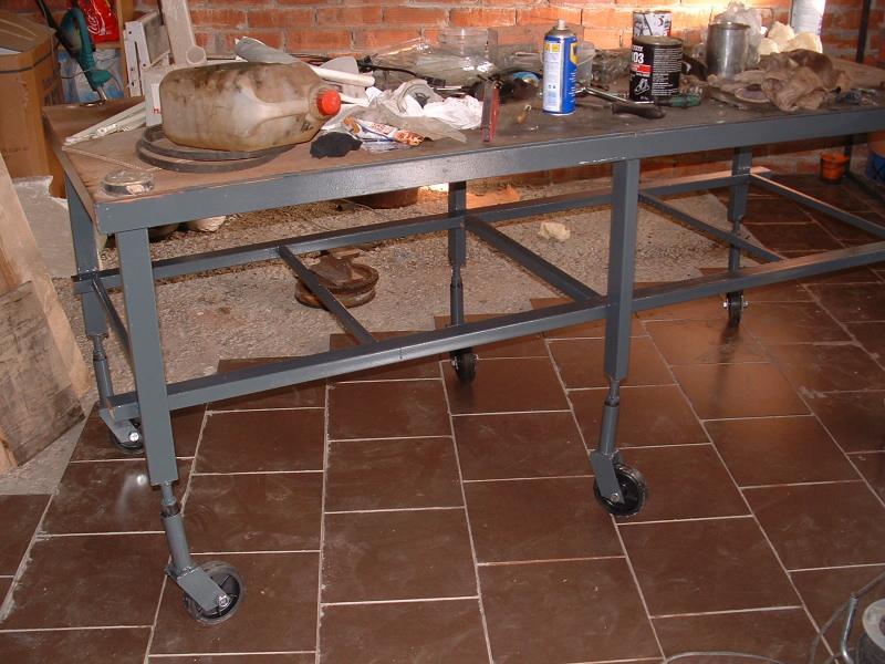 Mi mesa de trabajo - Mesa de trabajo con ruedas ...